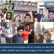 Checkpoints et selfies