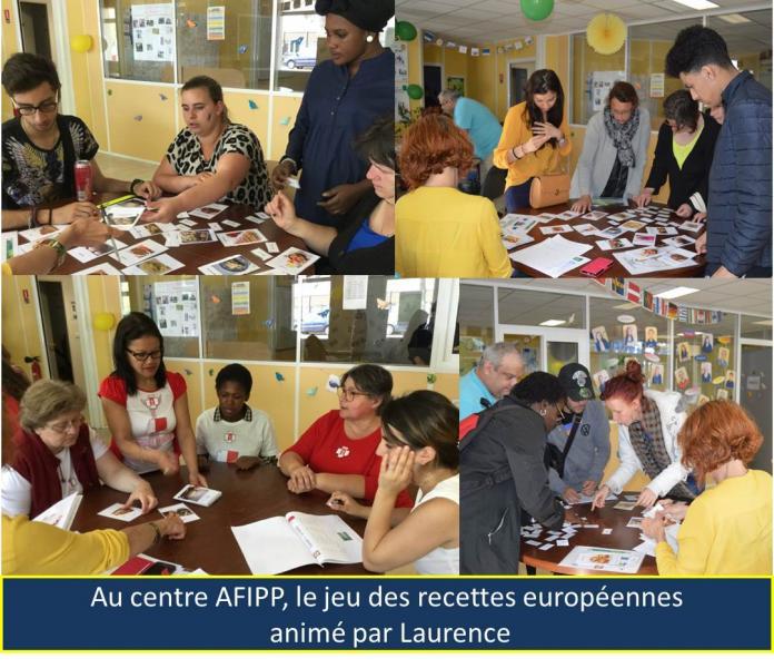 Au centre AFIPP: le jeu des recettes européennes