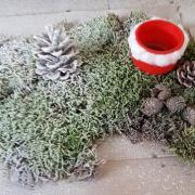 La décoration verte de St Just