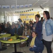 Aurore présente les micro projets de St Just en Chaussée
