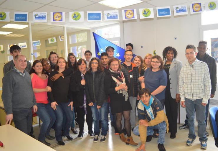 Groupe de stagiaires de Beauvais