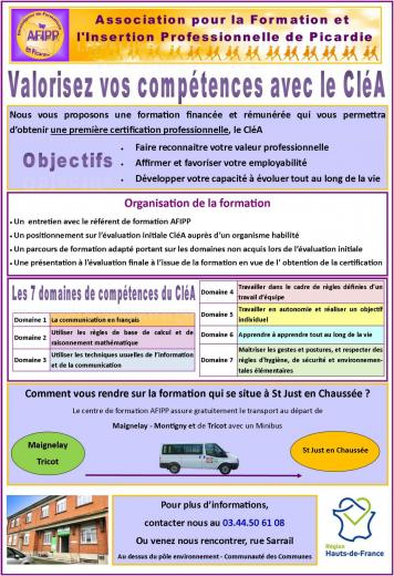 Affiche clea st just